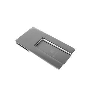 Speciale stile COHIBA Acciaio inossidabile di alta qualità Gadget pratici Argento Pieghevole Stand che mostra Portacenere per sigari portatile
