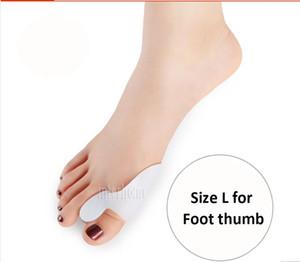 Neue 1 Paar Fuß Daumen Gel Silikon Bunion Corrector Big Toe Separatoren Haarglätter Spreizer Fußpflege Werkzeug Hallux Valgus Pro Massagegerät