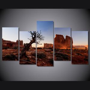 5 Панель HD Printed США Национальный парк Картина на холсте Room Decoration Печать плаката Картина холст стены искусства живописи