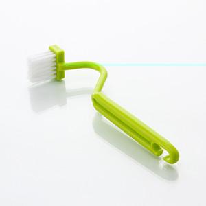 1 قطعة s شكل المرحاض تنظيف فرشاة المرحاض المحمولة فرشاة الغسيل منحني الجانب نظيفة الانحناء مقبض فرشاة الزاوية