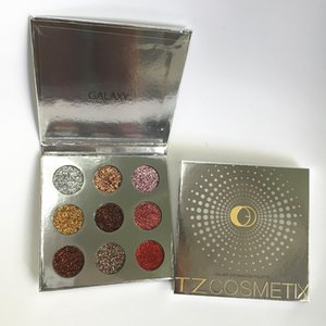 30pcs TZ Cosmetix Stars 다이아몬드 아이 섀도우 팔레트 매트 아이섀도 메이크업 팔레트 쉬머 다이아몬드 Foiled Colors 9 색 아이섀도 DHLFree