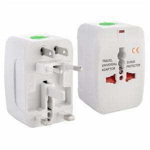 Adaptador de viaje universal Adaptador de enchufe de alimentación eléctrica EE. UU. Reino Unido AU Adaptador de enchufe europeo Adaptador de toma de corriente Cargador
