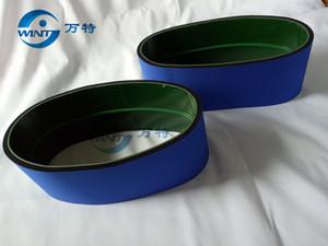 Trasporto libero, nastro trasportatore blu dell'etichettatrice della bottiglia rotonda MT-200 Pezzi di ricambio 770 * dimensione di 120mm
