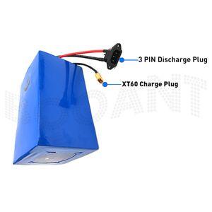 Free Shipping 48V 25AH Electric bike Lithium battery 13S 48V ebike bike battery for Bafang BBSHD 500W 1000W Motor +5A Charger