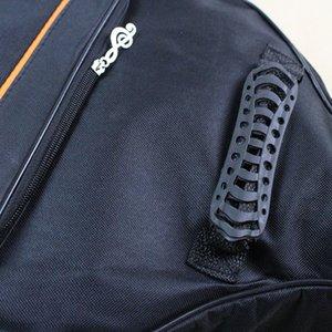 """Guitar Acoustic 4mm Case Bag Strap Backpack Adjustable Black 41"""" Padded Shoulder Thicken Classical Portable Tlasv"""