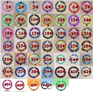 47 종의 상어 니노 실리콘 팔찌, 원래 레이블과 산에서 나온 사해의 눈에서 개인용 파우치 판도라 팔찌