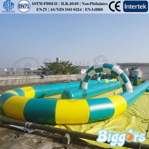 Outdoor Party Customized Size Or Color Inflatable Zorb Ball Go Kart Air Track Inflatable Race Track