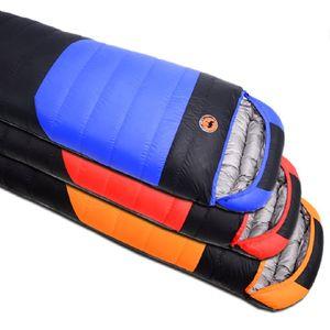 Camcel ultralight camping sac de couchage enveloppe blanc canard vers le bas sac de couchage compression sac de couchage 1500/1700