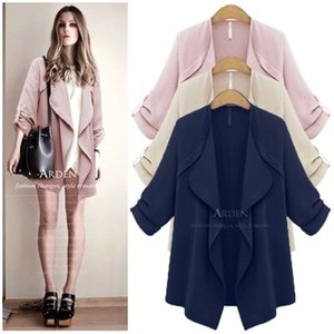 Large size women Hitz thin coat fat mm loose thin cardigan coat our sister tide