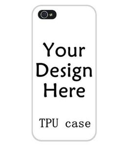 Para iphone 11 pro xs max xr x 6 6 s 7 8 plus diy design personalizado impressão personalizada tpu capa case