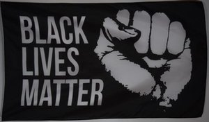 Black Lives Matter Martin Luther King Bandiera Banner 150CM * 90CM 3 * 5FT Poliestere Personalizzato Banner Sport Bandiera