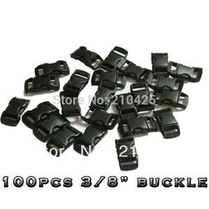 """Großhandels-100 PC / Los 3/8"""" (10 mm) Plastikwölbungen umrissene gebogene für Paracord Armband-Gurtband-freies Verschiffen"""