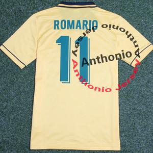 1994 BRASIL RETRO VINTAGE CLASSIC RONALDO Romario BEBETO CAFU BRASILIEN Thailand Qualitätsfußball Jerseys-Uniformen Fußball-Trikot camiseta futbol