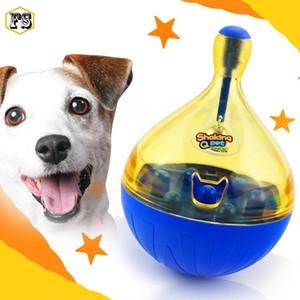 Hot Pet supplies Funny Shaking Feeders Dog Cat Fuga de alimentos Vaso Juguetes Alimentadores automáticos al por mayor envío gratuito