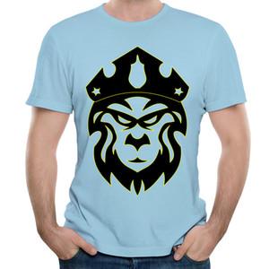 Interessante T-Shirt-Designs der 3XL-Männer und Kurzarm-Oansatz-Baumwoll-T-Shirts Mens-Art- und Weisedruck-beiläufige Oberseiten freies Verschiffen