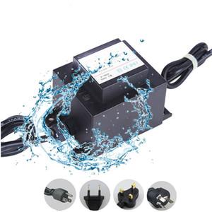 O conversor impermeável da fonte de alimentação do diodo emissor de luz 12V IP67 Driver para a luz clara da fonte da lagoa da piscina ilumina a iluminação 120V 220V ao CA 12 volts 60W