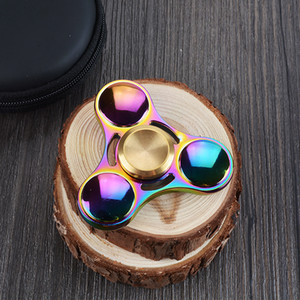 Relieve Stress Gyro Fingertips, Spiral Fingers EDC Hand Spinner Can Reduce Anxiety, Acrylic Plastic Fidgets Toys Gyro With Retail Box