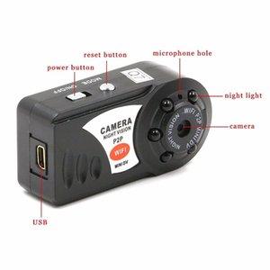 Горячие Мини Wifi DVR Q7 беспроводной IP видеокамеры Видеорегистратор камеры инфракрасного ночного видения камеры Обнаружение движения Встроенный микрофон