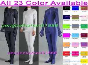 Unisex Sexy Body Outfit Sexy Body Suit Costumes Nuevo 23 Color Lycra Spandex Suit Catsuit Disfraces Unisex Cosplay Catsuit Disfraces P128