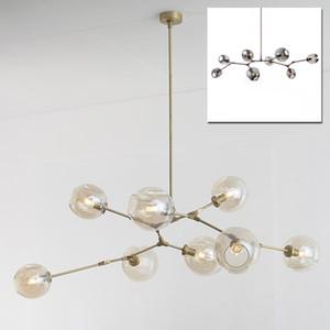 Винтаж магия подвесной светильник стильный шар шар промышленный лофт утюг droplight черное золото дерево классический современный светодиодный подвесной светильник