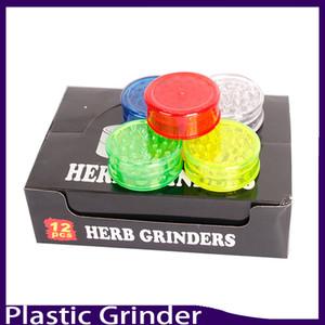 Date 3layer en plastique herbe meuleuse 60mm pour détecteurs de fumée pipe pipes à fumer acrylique meuleuses pour twisty glass émoussé 0266138