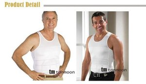 Nueva Hot Men's Sexy adelgaza la panza del cuerpo Shaper Belly Fatty térmica slim lift ropa interior hombres chaleco deportivo camisa corsé Fajas reductores hombres