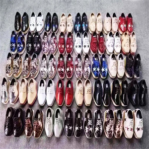 scarpe all'ingrosso stella bambino plartform, scarpe a punta quadrata con zeppa in pelle color cuoio 28, altezza vendita calda scarpe stella crescente beige 34-41
