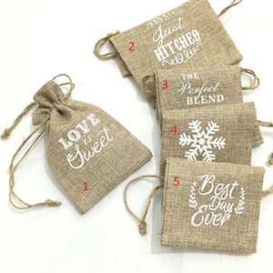 10 * 15cm alta quanlity borse di tela naturale coulisse sacchetto di juta burlap sacchetti del pacchetto sacchetto del regalo sacchetti di caramelle di nozze