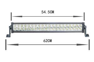 Super brillante Led Light bar 120w llevó la lámpara de trabajo para el camión Jeep y fuera de carretera 4wd