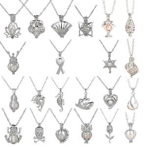 18kgp love wish pearl  gem beads locket cages Pendants, DIY Pearl charm pendants mountings free shipping