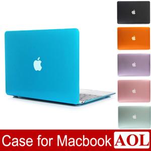 Crystal Clear Ön + Arka Koruyucu Kılıf Kapak Için Macbook 11 12 13 15 Hava Pro Retina Yeni Pro A1706 A1708 A1707 A1932 DHL ücretsiz