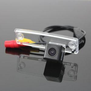 Cámara de visión trasera HD CCD RCA NTST PAL / Matrícula Lámpara OEM / Cámara de auto para Toyota 4Runner SW4 N210 / Hilux Surf 2002 ~ 2010
