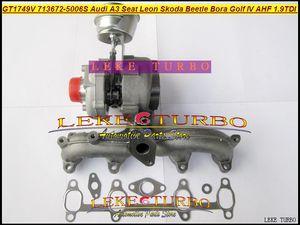 GT1749V 713672-5006S 713672 Turbo Turbocompresseur Pour AUDI A3 Pour Seat Leon Skoda Coccinelle Bora Golf IV AHF ALH AJM 1.9L TDI