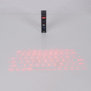 Freeshipping KB320 Universal Bluetooth USB Virtual Laser Keyboard Portable Size Bluetooth Projection Keyboard For Smart Phone