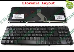New and Original Notebook Laptop keyboard FOR HP Pavilion DV6 DV6T DV6-1000 dv6-2000 Glossy Black Slovenian Slovenia Version - 530580-BA1
