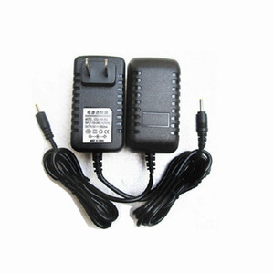 Free shipping 12V 2A Black Wall Charger Power Adapter 3.0mm US EU Plug Adapters for android Tablet PC