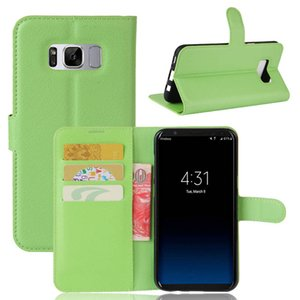 Luxury Magnetic Flip Case For Samsung Galaxy S8 Vintage Shell PU Leather Lanyard Phone Bags Cases For Samsung Galaxy S8 Cover
