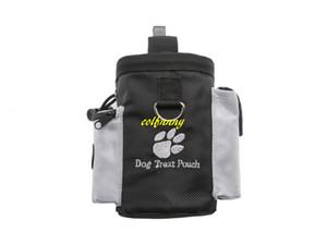 Envío gratis Pet Treat Pouch Dog Training Treat Bags Portátil desmontable Doggie Feed Pouch Puppy Snack Recompensa Cintura Bolsa