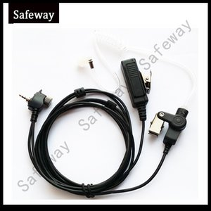 Walkie talkie Covert Acoustic Tube Auricolare Mic Headset per Motorola Mth600, Mth650, Mth800, Mth850, Mtp850, Mts850
