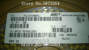 Freeshipping TAJC107K006RNJ C 6032 100UF 6.3V original and new 100PCS LOT