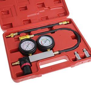 Freeshipping Auto Cylinder Engine Leak Leakdown Tester Compression Gauge Diagnostic Detector -Y103
