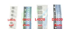10 sätze / los = 40 stücke für iphone 6 s 6 s plus hintergrundbeleuchtung Spule L4020 L4021 + hintergrundbeleuchtung Diode D4020 D4021