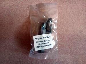 Pastiglie dei freni 1Pair Brown Materiale sostitutivo del legno di sughero per il cerchio in carbonio Utilizzare solo con la promozione Shima / Campy altri colori nero / marrone