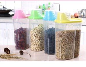 1 PC 2500 ML Multifuncional Transparente De Plástico Selado Moistureproof Food Storage Box Recipientes De Cozinha tanque de armazenamento O0346