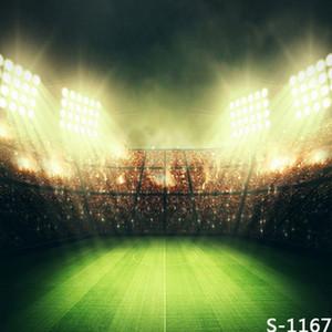 5x7ft de vinil campo de futebol digital campo verde luz fotografia estúdio pano de fundo fundo