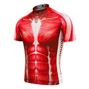 주문을 받아서 만들어진 새로운 뜨거운 근육 2017 OFFICAL JIASHUO mtb road RACING 팀 자전거 프로 사이클링 저지 / 셔츠 탑스웨어 호흡 공기