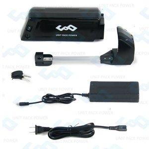 UE US Gratuit Taxes Hot vente style de cadre 36V 9Ah Batterie vélo électrique 36V Bouteille d'eau de la batterie avec port USB et chargeur 42V