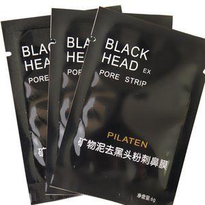 PILATEN Emme Siyah Maske Yüz Bakımı Maskesi Derin Temizlik Yırtılma Tarzı Gözenek Şerit Derin Temizlik Burun Akne Siyah Nokta Yüz Maskesi 3000 adet
