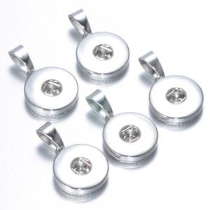 Noosa trozos 18 MM Ginger Snap Button Base Accesorios de joyería para DIY Snaps Button Collar Pulsera Joyería Accesorio