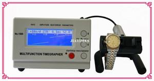 Al por mayor-Envío gratuito Weishi Mechanical Watch Timing Tester Timegrapher multifunción de la máquina de medición MTG-1500